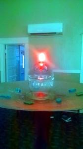 UUFSC Chalice + Air Conditioner
