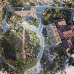 The big picture: aerial photo of Asilomar conference center