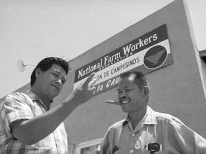 Cesar Chavez and Larry Itliong http://www.capradio.org/news/insight/2015/09/10/insight-091015a/