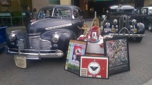 I took this at the Latino Community Roundtable's Dia De Los Muertos celebration and car show on Oct 24th in downtown Modesto.